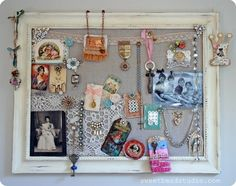 inspiration board - what a great idea. This one is beautiful, from Sweet Bead Studio.