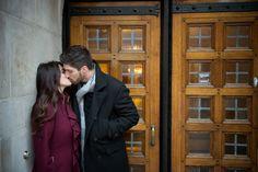 Jennifer Joseph's Winter Engagement Session By Gerber+Scarpelli Photography Instagram @gerberscarpelliweddings #gerberscarpelliweddings