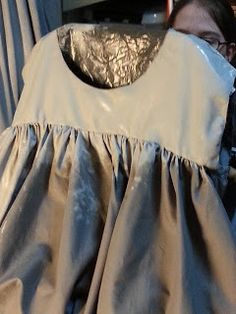 Eirin's cabinet of curiosities: Weeping Angels Cosplay/costume: painting the dress