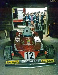 Niki Lauda - Ferrari 312T - Silverstone Circuit, John Player British Grand Prix 1975