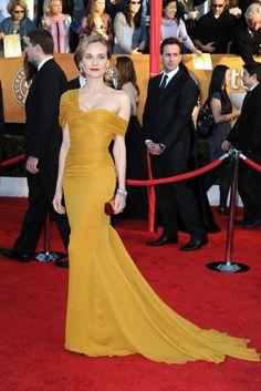 Diane Kruger 2010 SAG awards - Jason Wu's Leading Ladies: Five Years of Red-Carpet Highlights