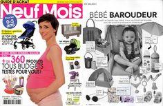 MUM ON THE GO - as seen on Neuf Mois Magazine