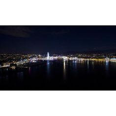 Geneva by night ____________________ #Geneva #Switzerland #LiveLoveGeneva #visitGVA #myGeneva #VisitSwitzerland #mySwitzerland #ILoveSwitzerland #igersGeneva #SwissDiscovery #drone #dronestagram #DJI #Phantom3 #Phantom3Pro #AerialPhoto #DroneOfTheDay #DronesDaily #AirVuz #DroneVentures #TheSkyKings #Switzerland_Vacations by pics_from_above