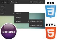 Как «зачётно» оформить навигацию на сайте (хлебные крошки, обычные и выпадающие меню) с помощью Bootstrap | KtoNaNovenkogo.ru - создание, продвижение и заработок на сайте