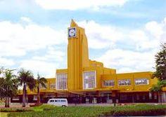 Estação Rodoviária de Goiânia, foi construída na década de 50