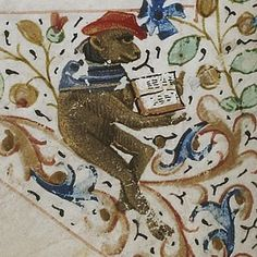 The Reader. Rothschild 2973, f. 2, 15th c. BnF.