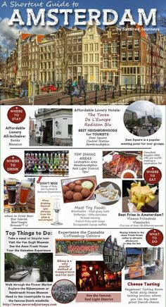 Called by numerous as Holland, the city of Amsterdam is the most checked out center in the Netherlands. Recent stats have actually shown that more than million tourists are coming to visit Amsterdam each year. Tour En Amsterdam, Amsterdam Netherlands, Hotel Amsterdam, Amsterdam Guide, The Netherlands, Amsterdam Fashion, 2 Days In Amsterdam, Amsterdam Shopping, European Vacation