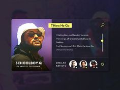 Schoolboy Q User Profile by Christopher Reath