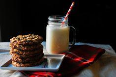 Oatmeal Milk Chocolate Chip Cookies