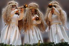 Angel, Christmas, Decoration
