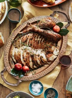 Herb Roasted Turkey | What's Gaby Cooking