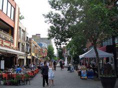 rue Prince Arthur, Montreal.