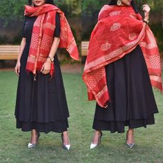 Pakistani Fashion Casual, Ethnic Fashion, Colorful Fashion, Indian Fashion, Indian Attire, Indian Wear, Indian Outfits, Look Short, Indian Designer Suits