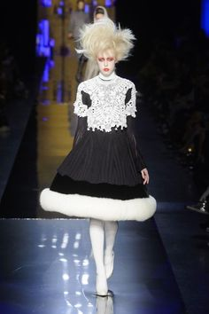 Jean Paul Gaultier Haute Couture F/W 2014-2015 Glam Punk Witches | GRAVERAVENS