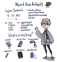 Meet the artist. :^) i went so extra on this lol