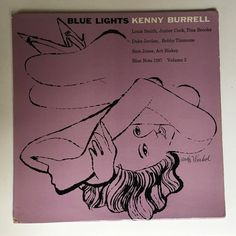 KENNY BURRELL Blue Lights Vol.2 ANDY WARHOL Art Cover Blue Note Mono 1958 Jazz
