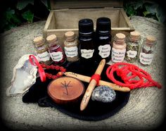 Chest of Protection Witchcraft. Magic Wicca Pagan by WytchenWood
