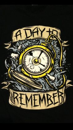 Pocket Watch ADTR T-Shirt (Tattoo Idea)