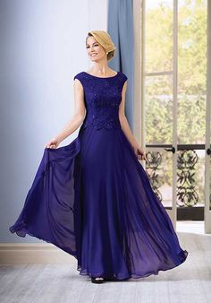Jade J185062 Purple Mother Of The Bride Dress