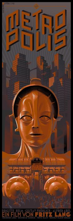 Laurent Durieux's Metropolis Poster.  1927.