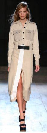 Военный стиль по этим стилистам: 1) Acne Studios; 2) Chanel; 3) Gucci; 4) Marc Jacobs; 5) N°21; 6) Victoria Beckham;