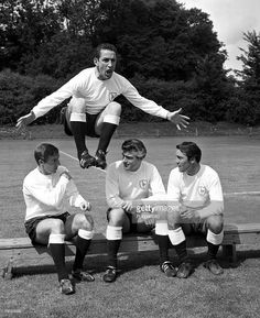Dave Mackay. Heart of the double team