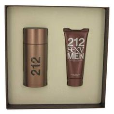 212 Sexy Gift Set by Carolina Herrera Gift Set for Men Includes 3.4 oz Eau De Toilette Spray + 3.4 oz After Shave Moisturizer