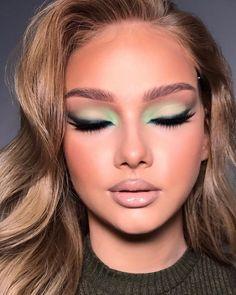 Angel Makeup, Kiss Makeup, Blush Makeup, Glam Makeup, Beauty Makeup, Makeup Eye Looks, Makeup For Green Eyes, Eye Makeup, Liquid Makeup