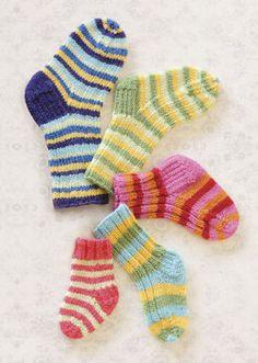 Lots O' Socks in Spud & Chloe Fine - 9810 (Downloadable PDF)
