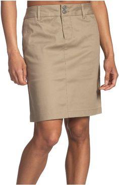 Amazon.com: Dickies Girl Juniors' Uni Double Buttoned Twill Skirt- School Uniform: Clothing