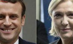 Na França, Macron sai na frente com 24,01% dos votos, seguido por Le Pen com 21,3%