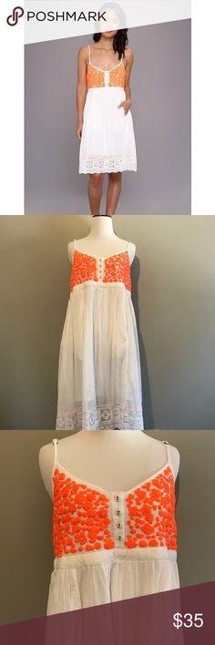 "Free People India Gauze Cloud Watching Dress Measurements: Armpit to armpit: 16"" Waist: 16"" Length: 38"" *E24 Free People Dresses"