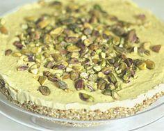 Cheesecake raw vegan cu fistic pentru diabetici - www.foodstory.ro