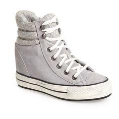 Women's Converse Chuck Taylor 'Platform Plus' High Top Sneaker ($57) ❤ liked