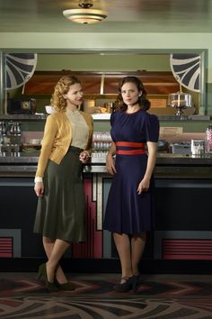 Agent Peggy Carter and Dottie Underwood