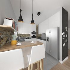 Złotniki Interior Design, Kitchen, Table, Furniture, Home Decor, Nest Design, Cooking, Decoration Home, Home Interior Design
