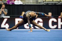 Nia Dennis--2014 P&G Championships day one