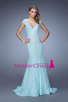 Shop mermaid evening gowns and designer mermaid prom dresses at PromGirl. Long evening dresses with mermaid skirts and mermaid gowns for prom. Open Back Prom Dresses, Prom Dresses 2016, Lace Evening Dresses, Sheath Dresses, Dressy Dresses, Sleeve Dresses, Elegant Dresses, Wedding Dresses, Party Dresses