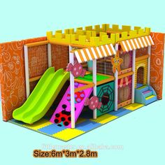 Check out this product on Alibaba.com APP Super Mini Indoor Playground Equipment Slide for Home