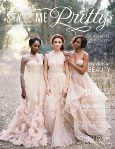 Style Me Pretty's 2013 Fashion & Beauty E-Magazine! Just Arrived! Plan on spending more than a few hours on SMP:  http://www.stylemepretty.com/2013/11/12/style-me-prettys-2013-fashion-beauty-e-magazine | Cover Photography by Jose Villa