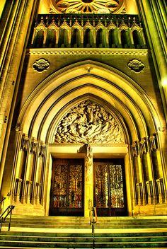 National Cathedral - main entrance