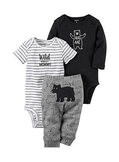 One-pieces *new* Converse All Star Baby Boy 3 Pack Bodysuit Romper 0-6 Months Set Delicacies Loved By All Boys' Clothing (newborn-5t)