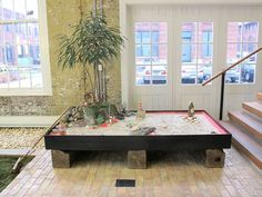 Our Zen Garden - New addition to our lobby at Free People!  http://blog.freepeople.com/2012/02/zen-garden/