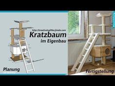Katzen Kratzbaum bauen - Kreative Tüftler - Basteln, Erfinden und Heimwerken mit Holz, Metall und Elektronik