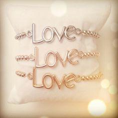 Love armband | bracelet #ohsohip #Love