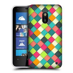 Pouzdro na mobilní telefon Nokia Lumia 620 HEAD CASE WOVEN