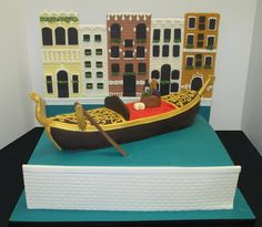 1000+ images about Gondola Cake on Pinterest Specialty ...