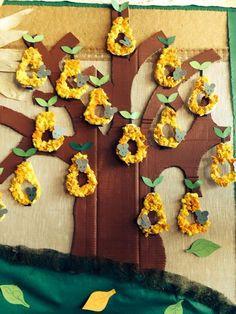 Fruit and vegetables crafts preschool art projects 21 ideas for 2019 Kids Crafts, Preschool Art Projects, Preschool Crafts, Diy And Crafts, Arts And Crafts, Paper Crafts, Autumn Crafts, Autumn Art, Autumn Activities