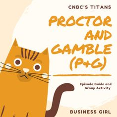 This product contains an episode guide with 10 questions for students to answer as they watch the CNBC's Titans Proctor and Gamble episode and a PowerPoint slide with a group activity to be completed after watching the episode. This activity is a great addition to numerous business-related courses.