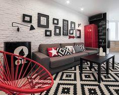 BohoStudio (Украина). Квартира холостяка : «Д.Журнал» — журнал о дизайне и архитектуре